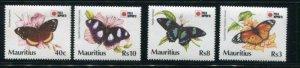 Mauritius #739-42 Mint