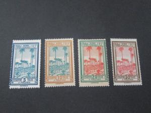 French Guiana 1929 Sc J13-16 MH