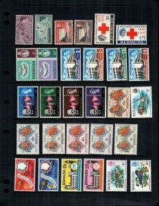Bermuda  29 diff MNH cat $30.00
