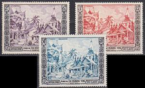 LAOS [1954] MiNr 0040-42 ( **/mnh )