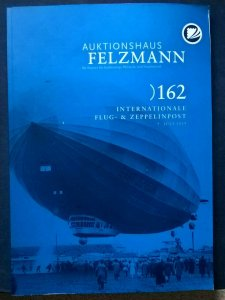 Auction Catalogue FLUG- ZEPPELINPOST Specialised Airship Airmail Covers History