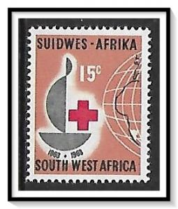 South West Africa #296 Red Cross MLH