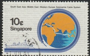 Singapore,  #491 Used  From 1986