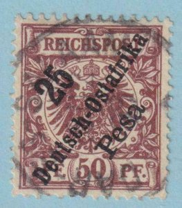 GERMAN EAST AFRICA 10  USED -  NO FAULTS EXTRA FINE!