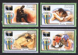 Aitutaki Olympic Games Sydney 4v SG#712-715 SC#531 CV£8