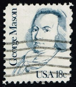 US #1858 George Mason; Used (3Stars)