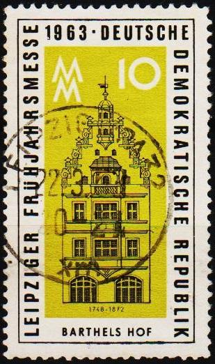 Germany(DDR).1963 10pf S.G.E672 Fine Used