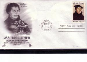 US FDC Sc.# 2065 Martin Luther Artcraft L508