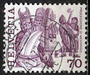 Switzerland 1977: Sc. # 642; O/Used Single Stamp