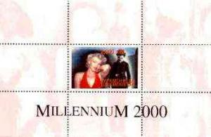 Turkmenistan 1999 Millennium Personalities (Marilyn &...