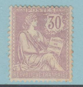 FRANCE 137  MINT  HINGED OG * TONED  NO FAULTS VERY FINE !