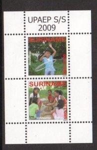 Surinam  #1393   MNH    2009  sheet   children at play