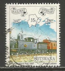 Botswana   #638  used  (1997)  c.v. $0.35