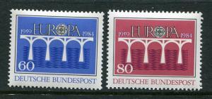 Germany #1415-6 MNH 1984 Europa