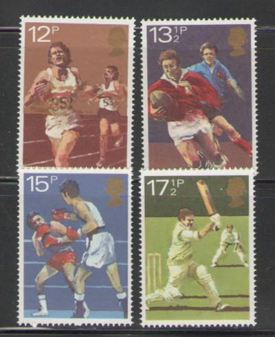 Great Britain 1980 Sports stamp set mint NH
