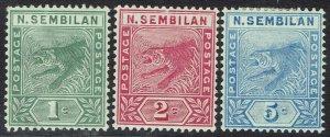 NEGRI SEMBILAN 1891 TIGER SET