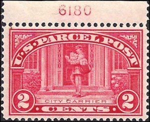 Q2 Mint,OG,XLh... SCV $5.00... Plate# Single... What a pretty stamp!