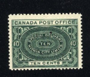 Canada #E1   Mint NH VF   1898 PD