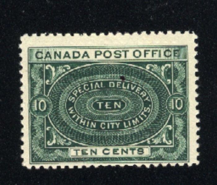 Canada #E1   Mint NH VF   1898 PD