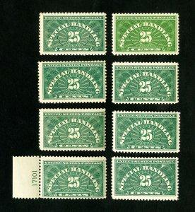 US Stamps # QE4 F-VF Lot of 8 OG NH Scott Value $300.00