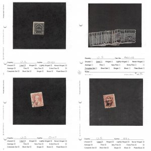 Lot of 25 U.S. Back of Book Mixed Condition Stamps #138808 X