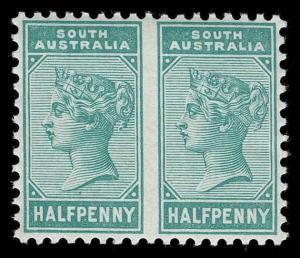 Australia / South Australia Scott 96a Variety Gibbons 188b Never Hinged Stamp