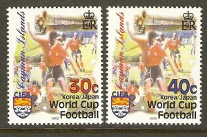 Cayman Islands #855-6 NH World Cup Soccer