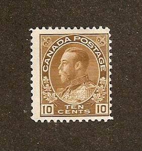 Canada  Scott #118  Mint  Hinged  Scott CV $40.00