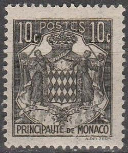 Monaco #149A  F-VF Unused (K981)