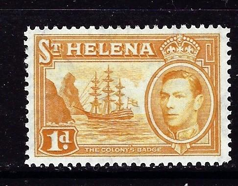 St Helena 119A Hinged 1940 issue