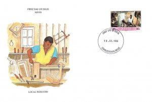 Saint Kitts, Worldwide First Day Cover