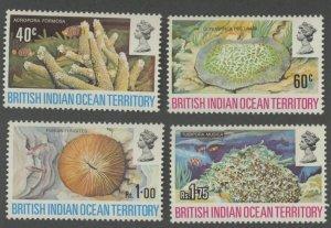 British Indian Ocean Territory 44-7 * mint LH sea coral (2107 274)
