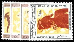 ALGERIA 365-68  Mint (ID # 77312)