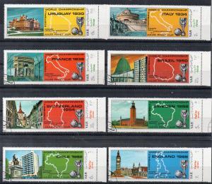 YEMEN - YEMEN ARAB REPUBLIC - 1970 - FOOTBALL - SOCCER - Stamped -