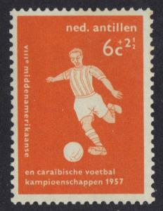 Netherlands Antilles 1957 MH  football   6ct   #