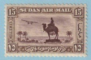 SUDAN C23 AIRMAIL  MINT HINGED OG * NO FAULTS EXTRA FINE!