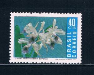 Brazil 1023 MNH Flowers (B0387)