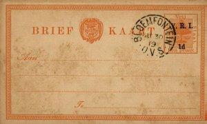 Bargains Galore Orange Free State postcard used c1919