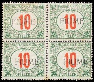 FIUME J8c  Mint (ID # 101823)
