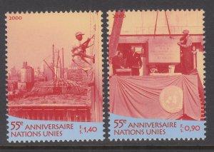 UN Geneva 358-359 MNH VF
