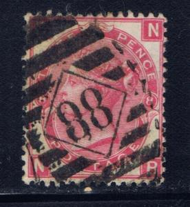Great Britain 49 Plate #8 Used 1867 Issue
