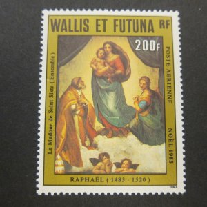 French Wallis and Futuna Islands 1983 Sc C128 Christmas Religion set MNH
