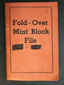 US Old Stamp Collection Blocks Used 48 Blocks (238 Stamps) in Pocket Block File