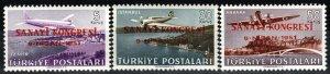Turkey #C19-21  MNH CV $6.00  (X7739)