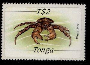 TONGA QEII SG879, 2p Birgus Latro (Crab), NH MINT. Cat £16.