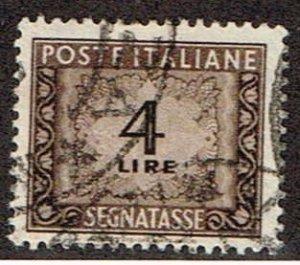 Italy # J68  Used