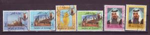 J14997 JLstamps 1992 qatar part of set hv,s used #798-803 sheik/views