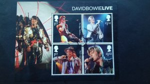 Great Britain 2017 David Bowie, 1947-2016  Used