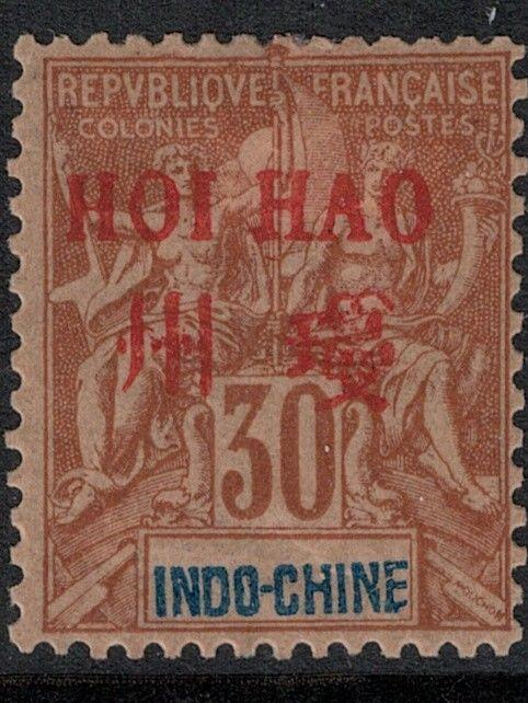 French office China Hoi Hao 1901 SC 10 Mint SCV $67.50