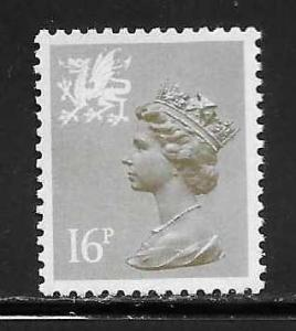 Great Britain Wales WMMH28 16p Machin MNH